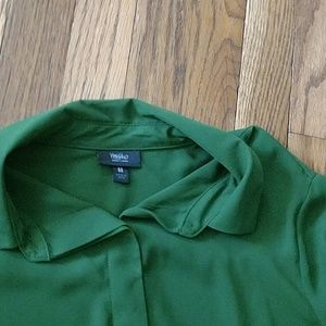 Mossimo Supply Co. Tops - Forest green light weight blouse